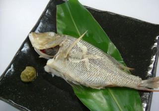 白身魚のマース煮(塩煮)シークヮーサーこしょう風味