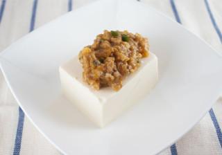 うま辛な絶品冷やしジャージャー豆腐