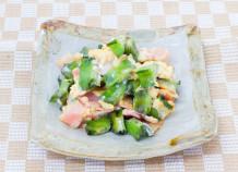 うりずん豆(四角豆)のイリチー