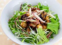 タコの唐揚げサラダ