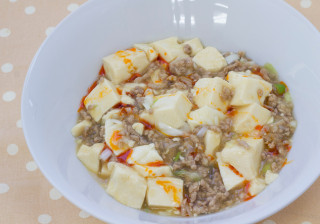 ぽん酢でさっぱり麻婆豆腐