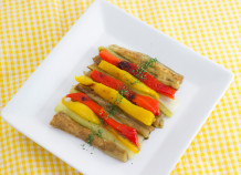エスカリバーダ風サラダ(焼き野菜のサラダ)