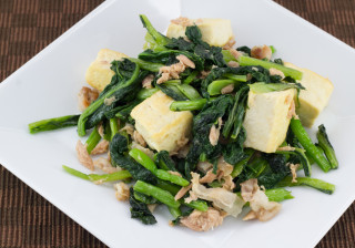 チキナー(からし菜)チャンプルー
