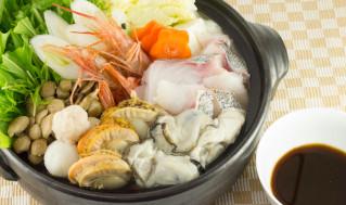 さっぱり海鮮鍋