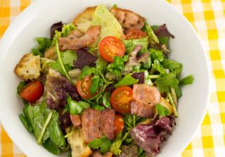 たっぷり野菜のパーティーバゲットサラダ