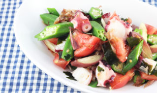 夏野菜の冷やしサラダ