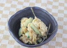ミミガ―のピーナッツ味噌和え