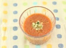 トマトのガスパチョ風スープ(冷製スープ)