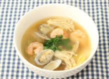 あさりの島とうがらしドレッシングスープ