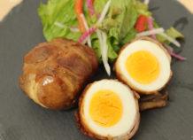 甘辛肉巻き卵