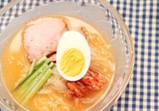 ピリ辛簡単 冷麺