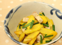 チデークニイリチー(島にんじん炒め煮)
