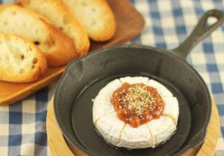 焼き豚肉みそカマンベールチーズ