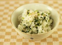 チキナー(からし菜)入り混ぜご飯
